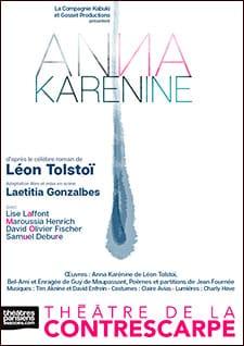 Excellent Anna Karénine au Théâtre de la Contrescarpe