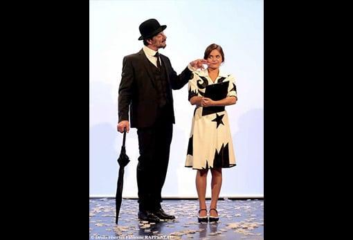 sublime spectacle sur Erik Satie au Théâtre de la Contrescarpe à Paris