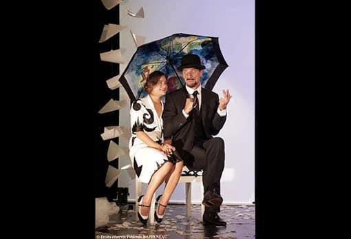 """Anaïs Yazit et Elliot Jenicot, dans le sublime """"Je m'appelle Erik Satie…"""" au Théâtre de la Contrescarpe"""
