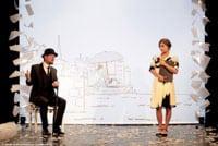 """Elliot Jenicot échange avec Anaïs Yazit dans """"Je m'appelle Erik Satie"""""""