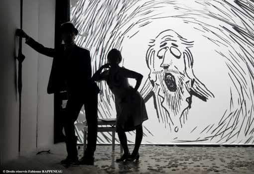 le magnifique spectacle Erik Satie au theatre de la contrescarpe