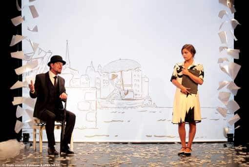 Elliot Jenicot dans Erik Satie au theatre de la contrescarpe