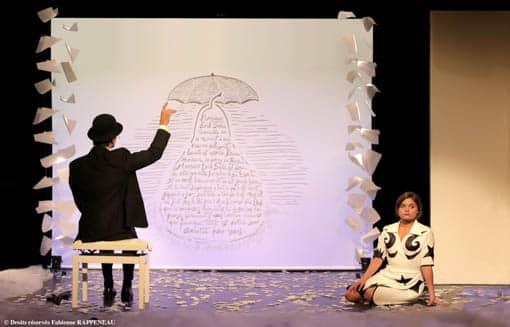 Erik Satie au theatre de la contrescarpe a paris
