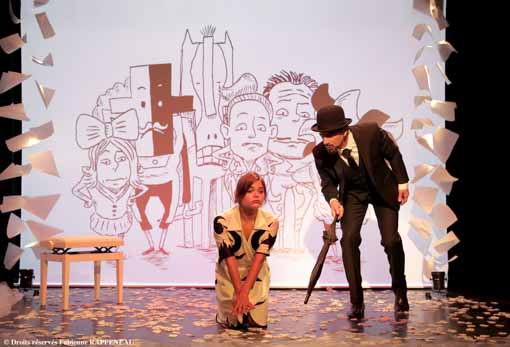 spectacle Erik Satie au Théâtre de la Conterscarpe à Paris