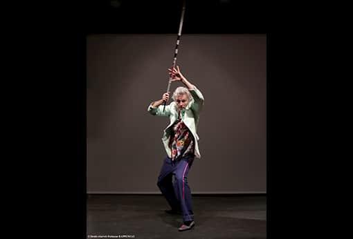 """One man show humoristique """"En mode souci"""" de Philippe Fertray au Théâtre de la Contrescarpe : sketch """"l'amuseur"""""""