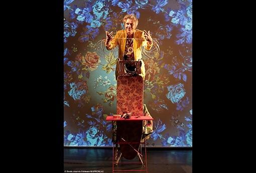 """One man show humoristique """"En mode souci"""" de Philippe Fertray au Théâtre de la Contrescarpe : sketch """"le camelot du masque"""""""